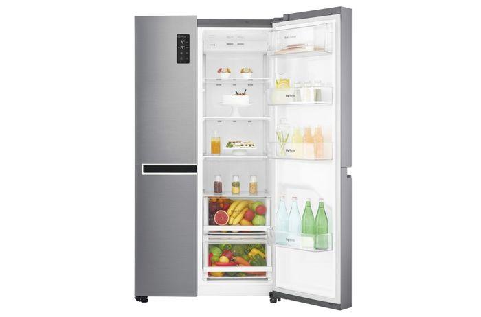 LG GSB760PZXZ otevřená chladnička