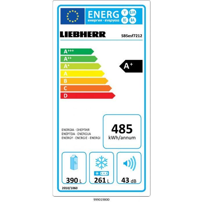 Liebherr SBSesf 7212 energetický štítek