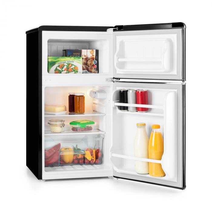 Klarstein Monroe Black– vnitřek chladničky