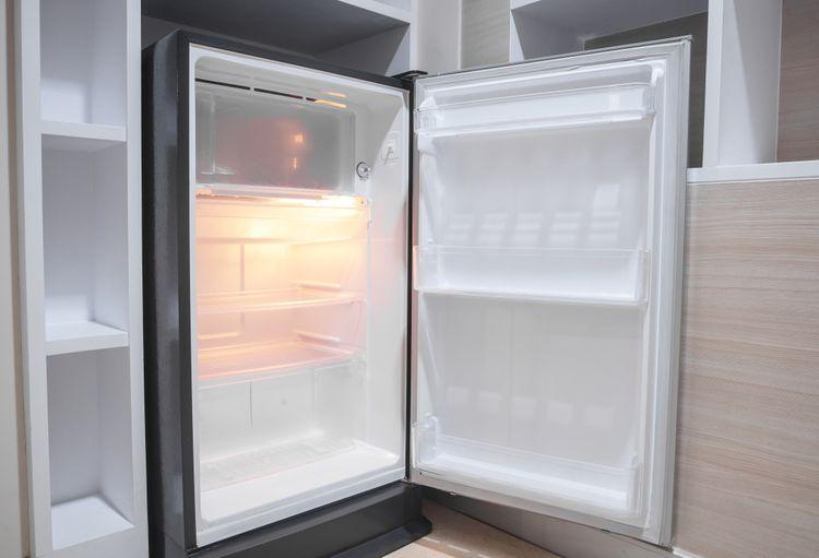 Otevřená vestavěná chladnička