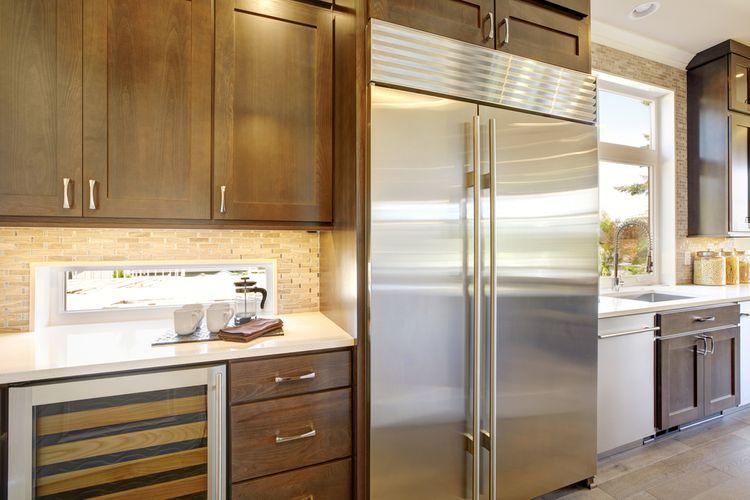 Vestavné ledničky se vyznačují nízkou hlučností