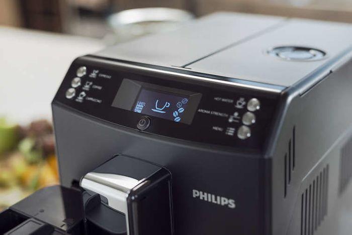 Philips EP3550/00 ovládání