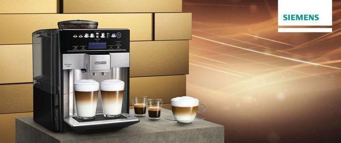Příprava kávy v kávovaru Siemens TE651209RW