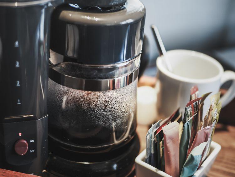 Příprava kávy v překapávači