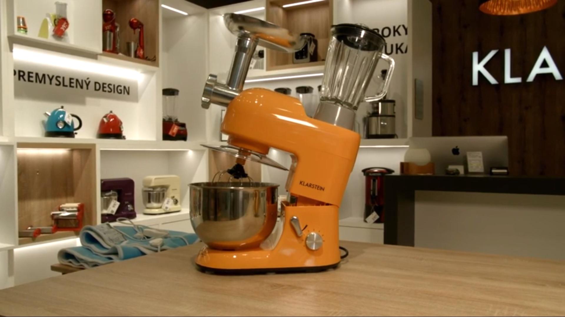 Multifunkční kuchyňský robot Klarstein Lucia Orangina