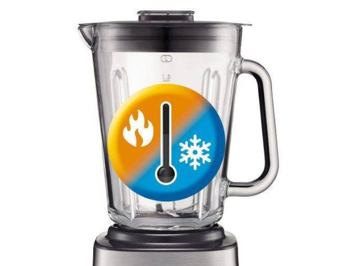 Tefal BL 811D38 zvládne rozmixovat horké i studené pokrmy