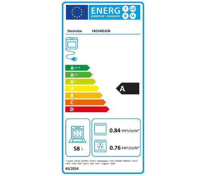 Electrolux EKC54952OK PlusSteam energetický štítek