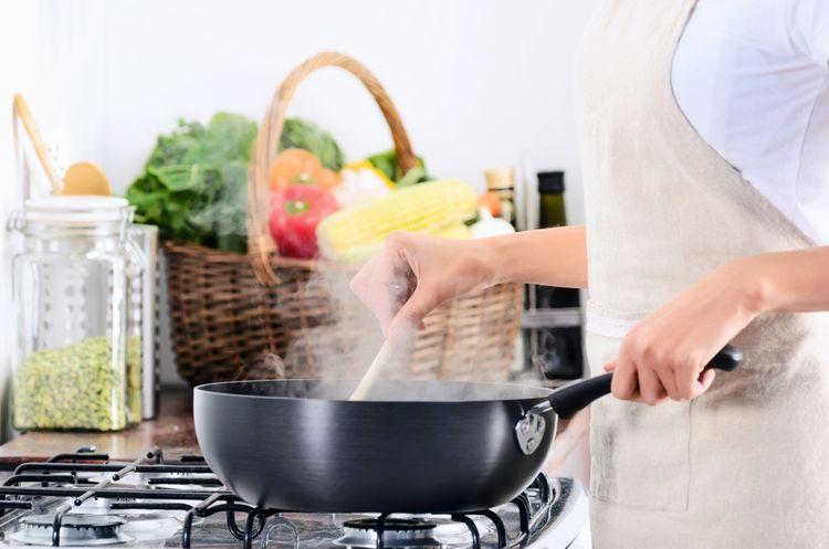 Vaření na plynovém sporáku