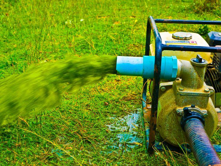 Zahradní povrchové čerpadlo