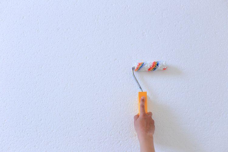 Malý polystyrénový malířský váleček