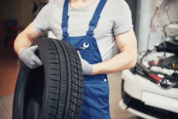 Výměna pneumatik v servisu