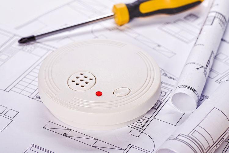 Montáž detektoru kouře