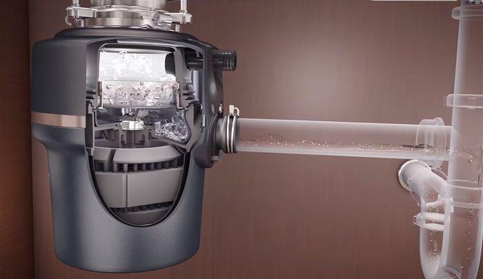 Princip fungování drtiče kuchyňského odpadu