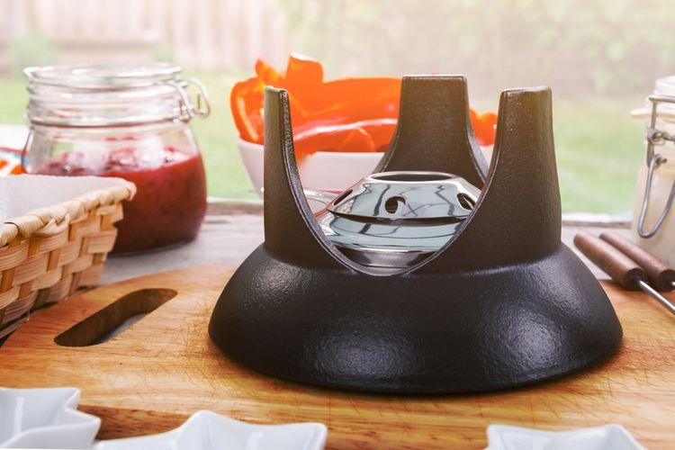 Palivový hořák fondue setu