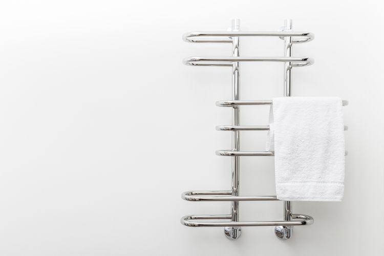 Nerezový designový radiátor do koupelny