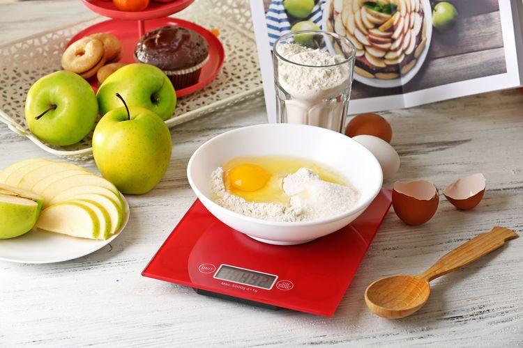 Funkce digitální kuchyňské váhy
