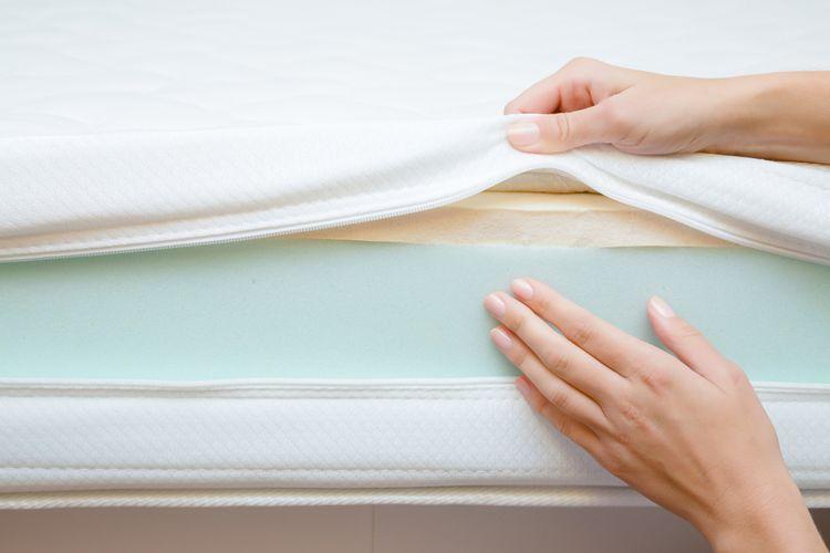 Nová matrace– vrstvy