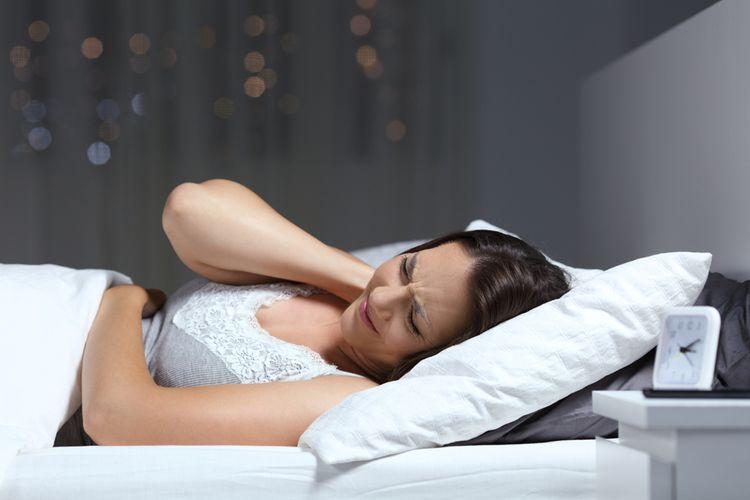 Spánek na zlom matraci