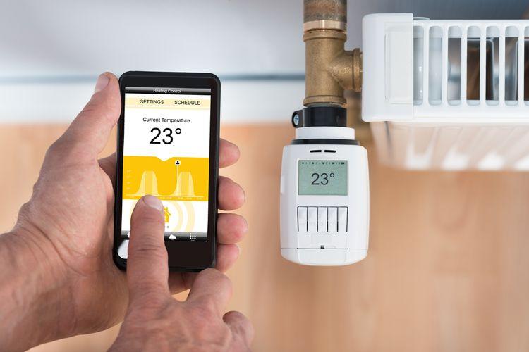 Inteligentní termostat na radiátor