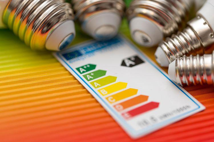 Energetický štítek žárovky