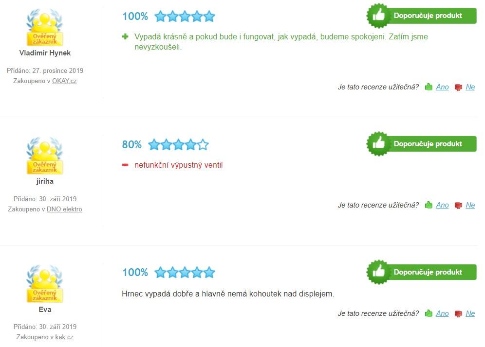 Recenze a zkušenosti se Zavařovací hrnce Domo DO 42325