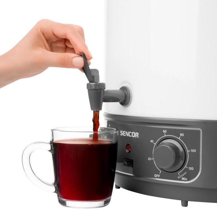 Zavařovací hrnec Sencor SPP 2100 s výpustným ventilem