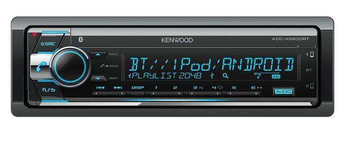 Kenwood KDC-X5200BT recenze