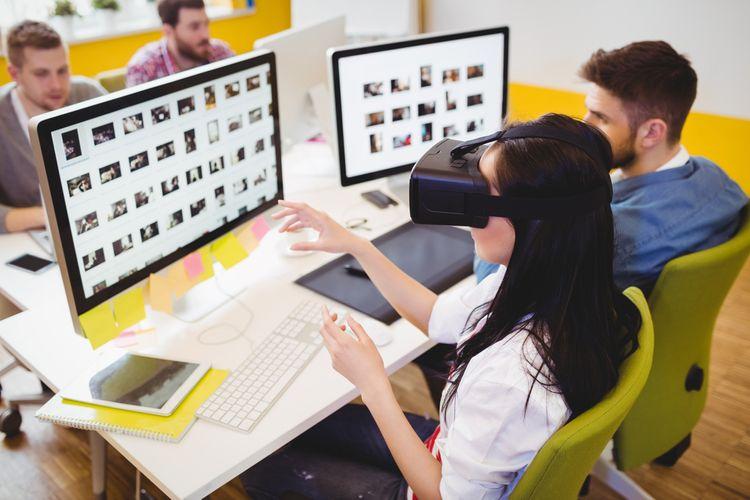 Brýle na virtuální realitu k PC