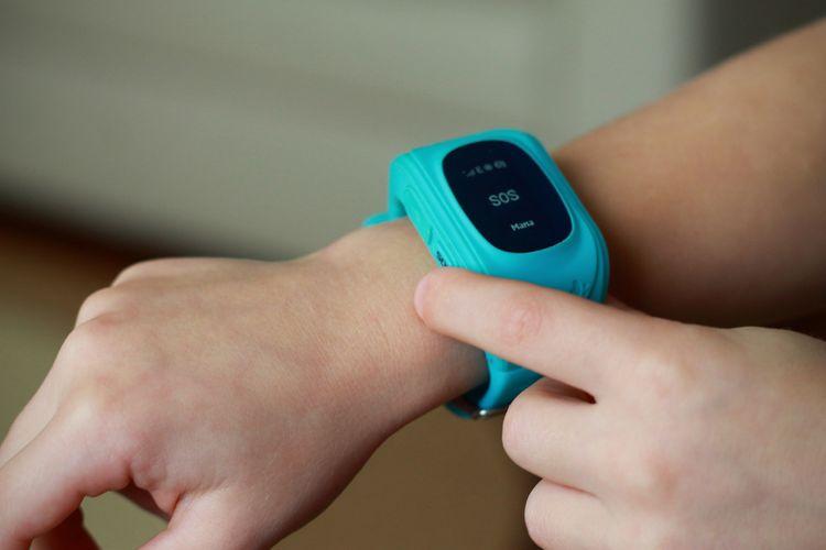 Dětské hodinky s GPS s SOS tlačítkem