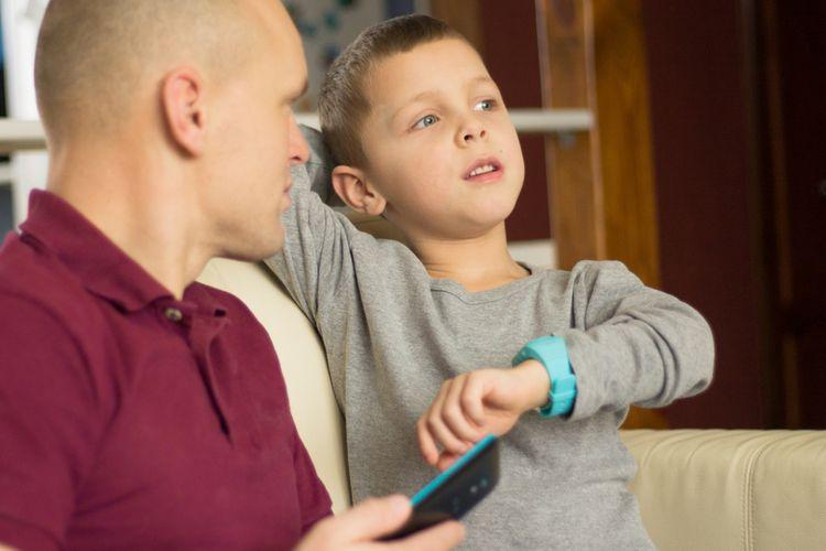 Spárování dětských hodinek s SPS se smartphonem