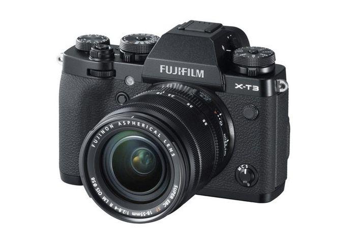 Digitální fotoaparát Fujifilm X-T3 s černým tělem