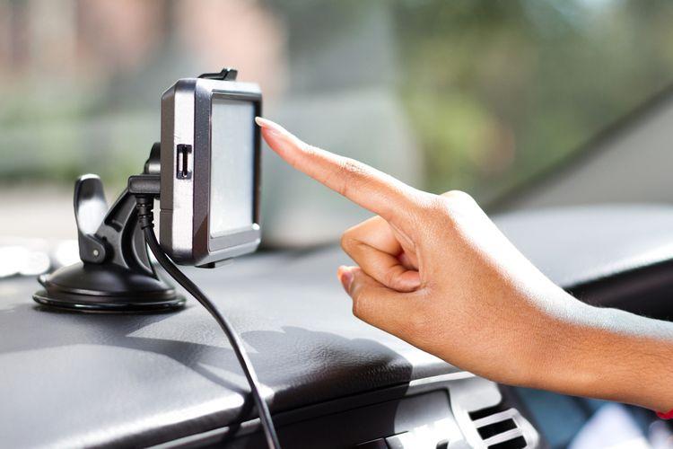GPS navigace s dotykovým displejem