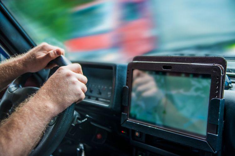 GPS navigace v kamionu