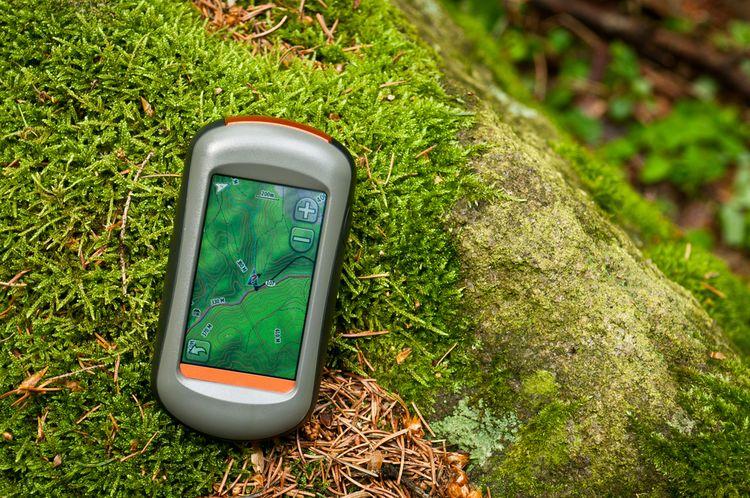 Turistická GPS navigace
