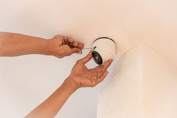 Instalace IP kamery na strop