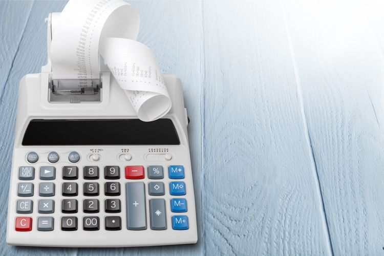 Kalkulačka s tiskárnou
