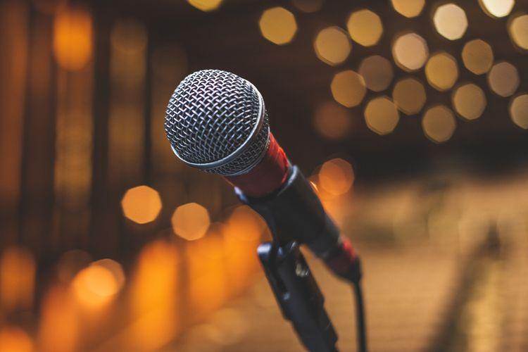 Mikrofon se stojanem