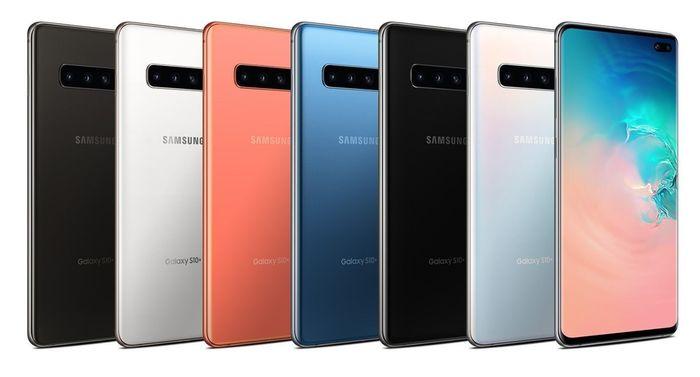 Samsung Galaxy S10 Plus G975F 128GB v různých barevných provedeních