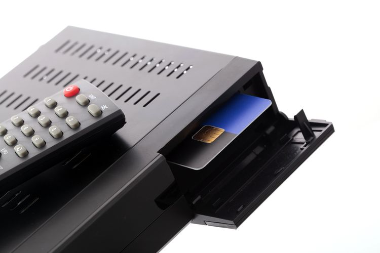 Set-top box čtečka dekódovacích karet