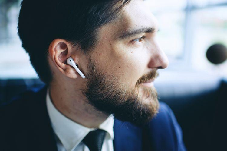 Bezdrátové bluetooth sluchátka do uši