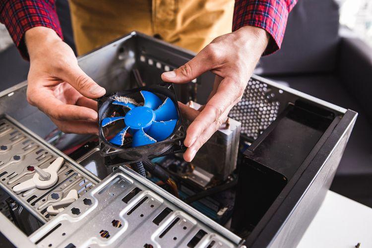 Chlazení počítače– ventilátor