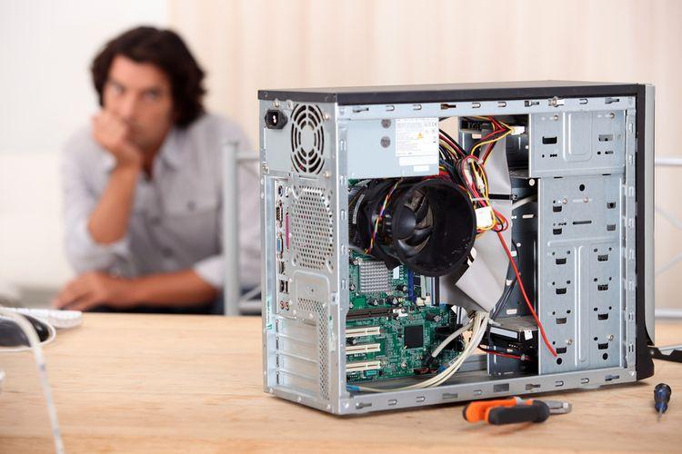Repacovaný počítač/PC