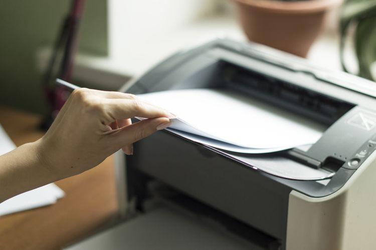 Malá inkoustová tiskárna