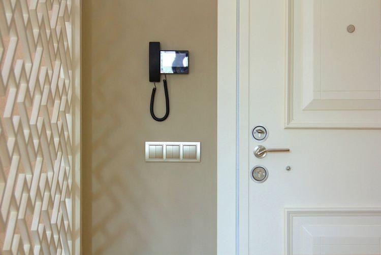 Umístění videotelefonuu vchodových dveří