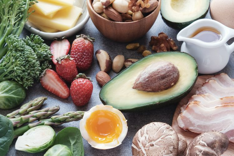 Povolené potraviny během ketonové diety