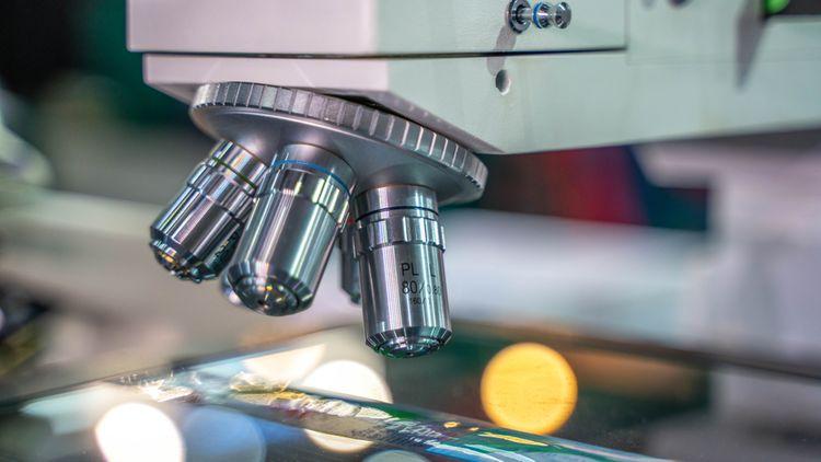 Digitální mikroskop bez okulárů
