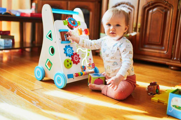 Aktivní chodítko pro nejmenší děti