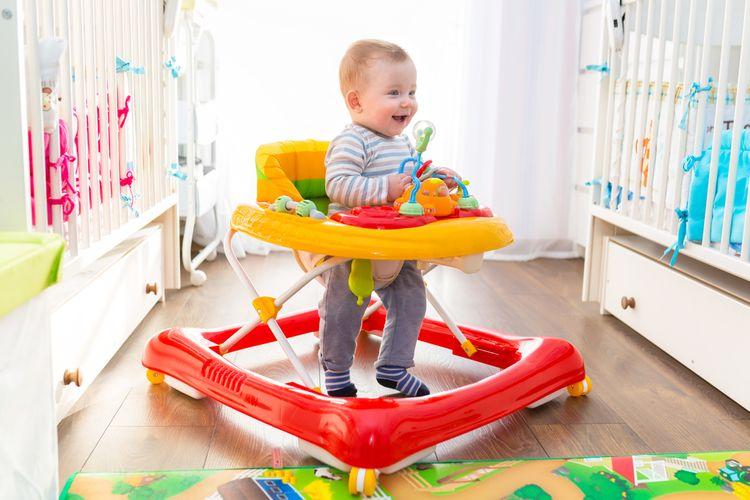 Jak vybrat dětské chodítko?