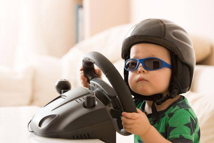 Dětská elektronika na rozvoj motoriky
