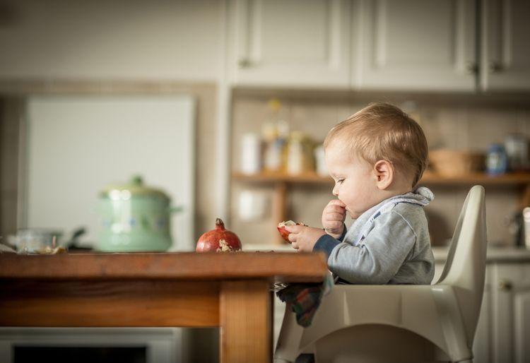 Údržba dětské jídelní židle